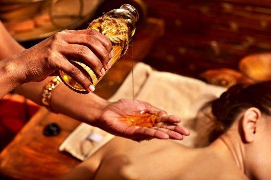Тайский массаж с арома-маслами