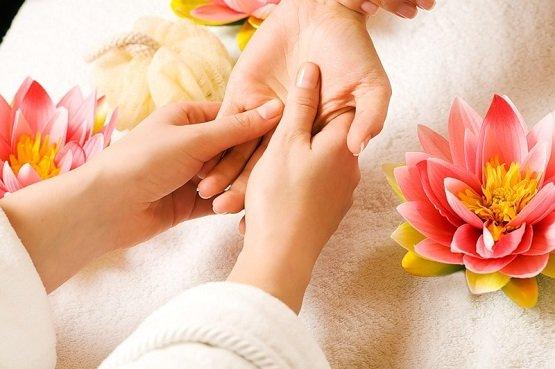 Фото массаж рук